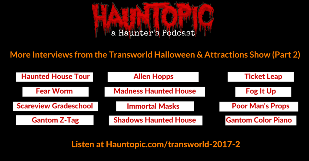 HAA Show-Transworld Halloween Attractions Show